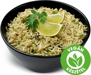 Zöldcitromos rizs korianderrel