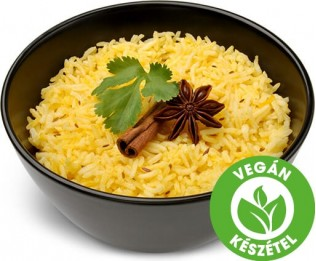 Hántolatlan köménymagos curry rizs