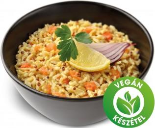 Zöldséges rizs quinoával